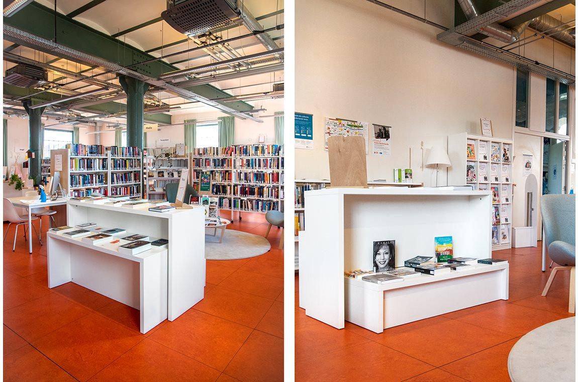 Openbare bibliotheek Forest, België - Openbare bibliotheek
