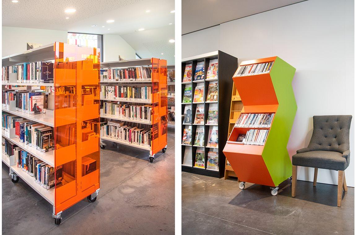 Rumes Taintignies Public Library, Belgium - Public libraries