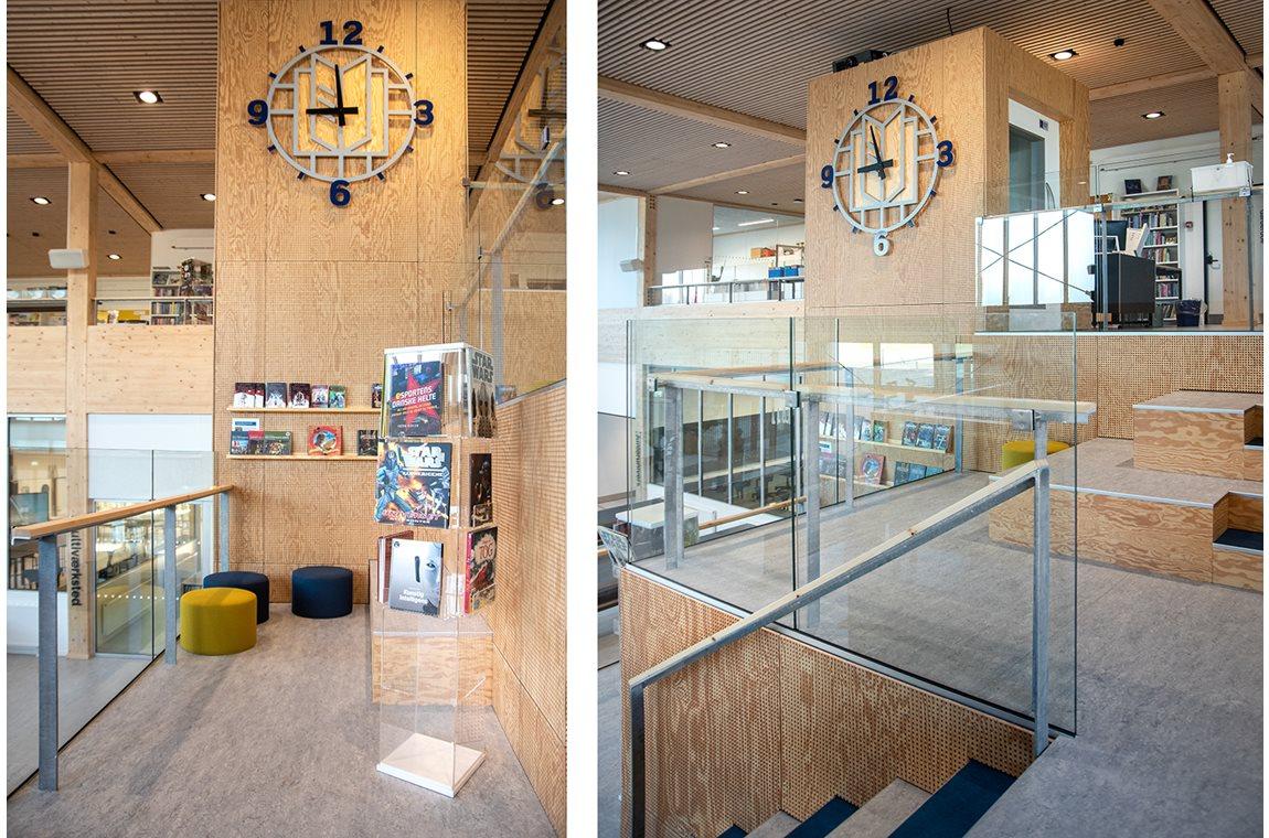 Erlev School, Denmark - School libraries