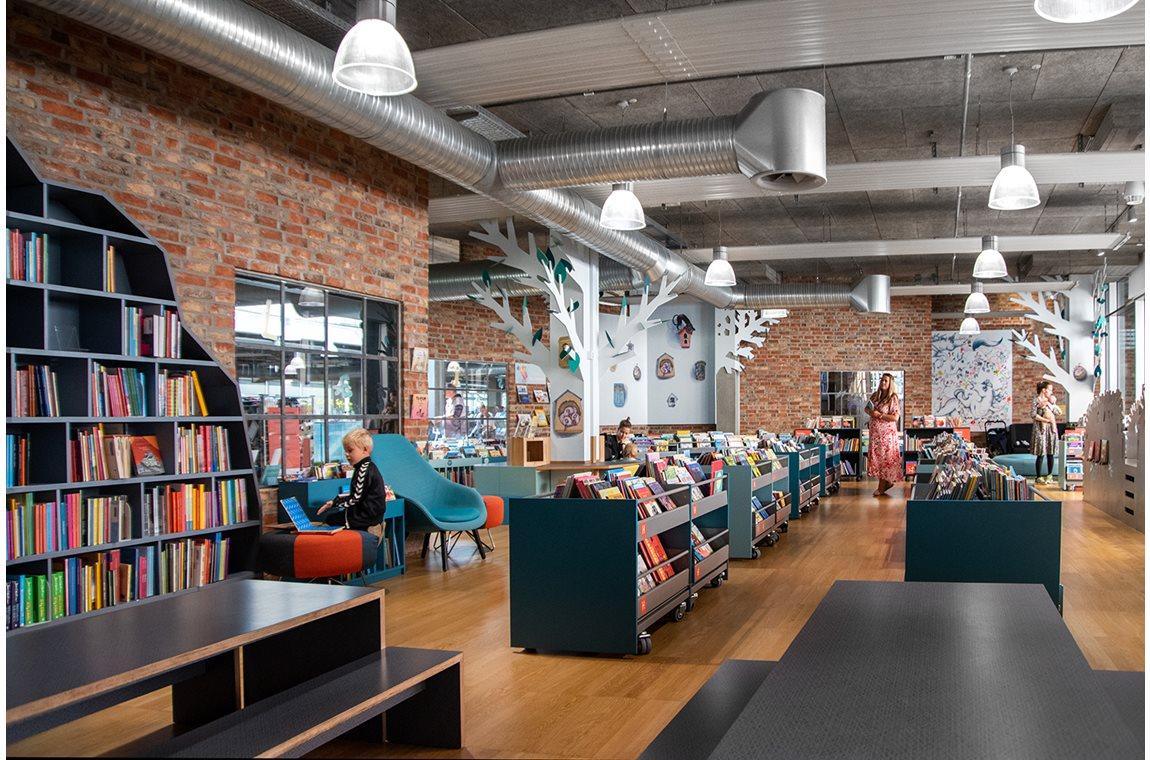 Öffentliche Bibliothek Herning, Dänemark - Öffentliche Bibliothek