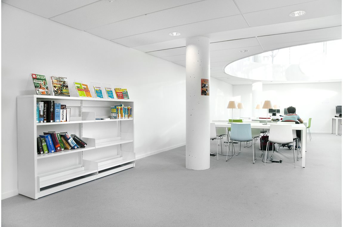 Marine Public Library, Colombes, France - Public libraries