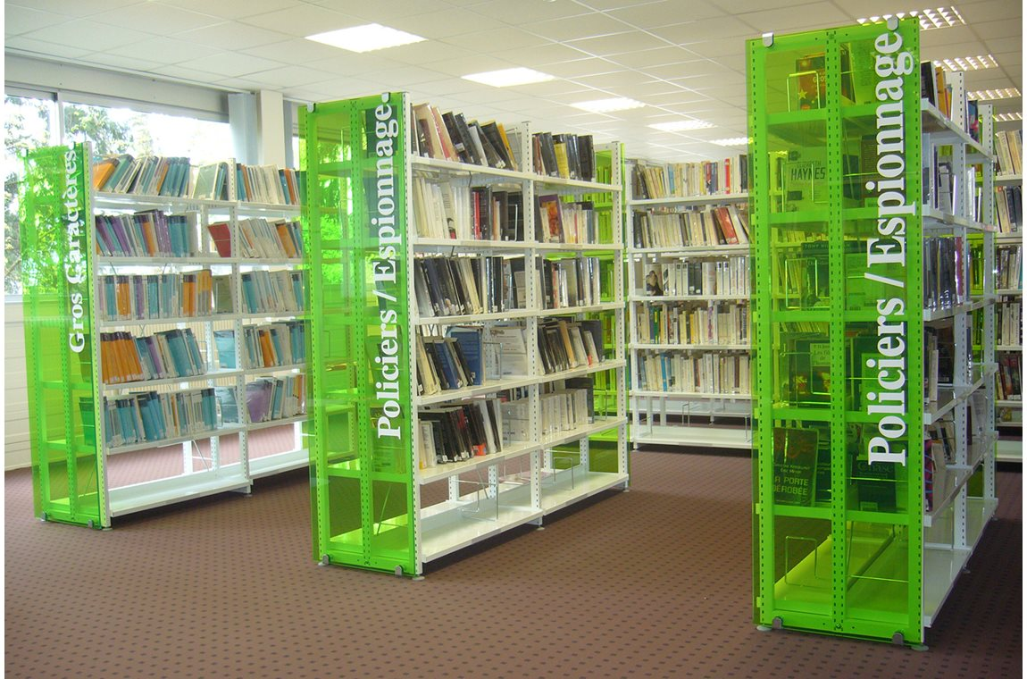 CIE 3 Chênes virksomhedsbibliotek, Belfort, Frankrig - Virksomhedsbibliotek