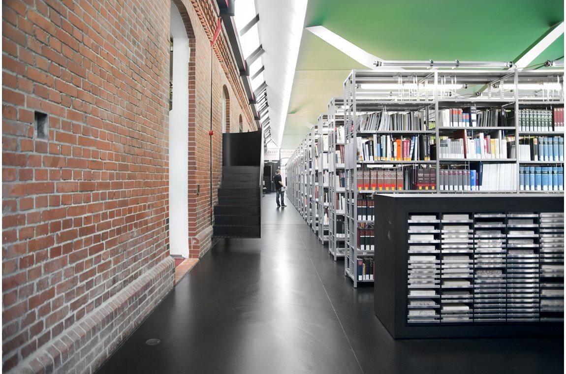 Bibliotheek voor architectuur, design en kunst, Duitsland - Wetenschappelijke bibliotheek