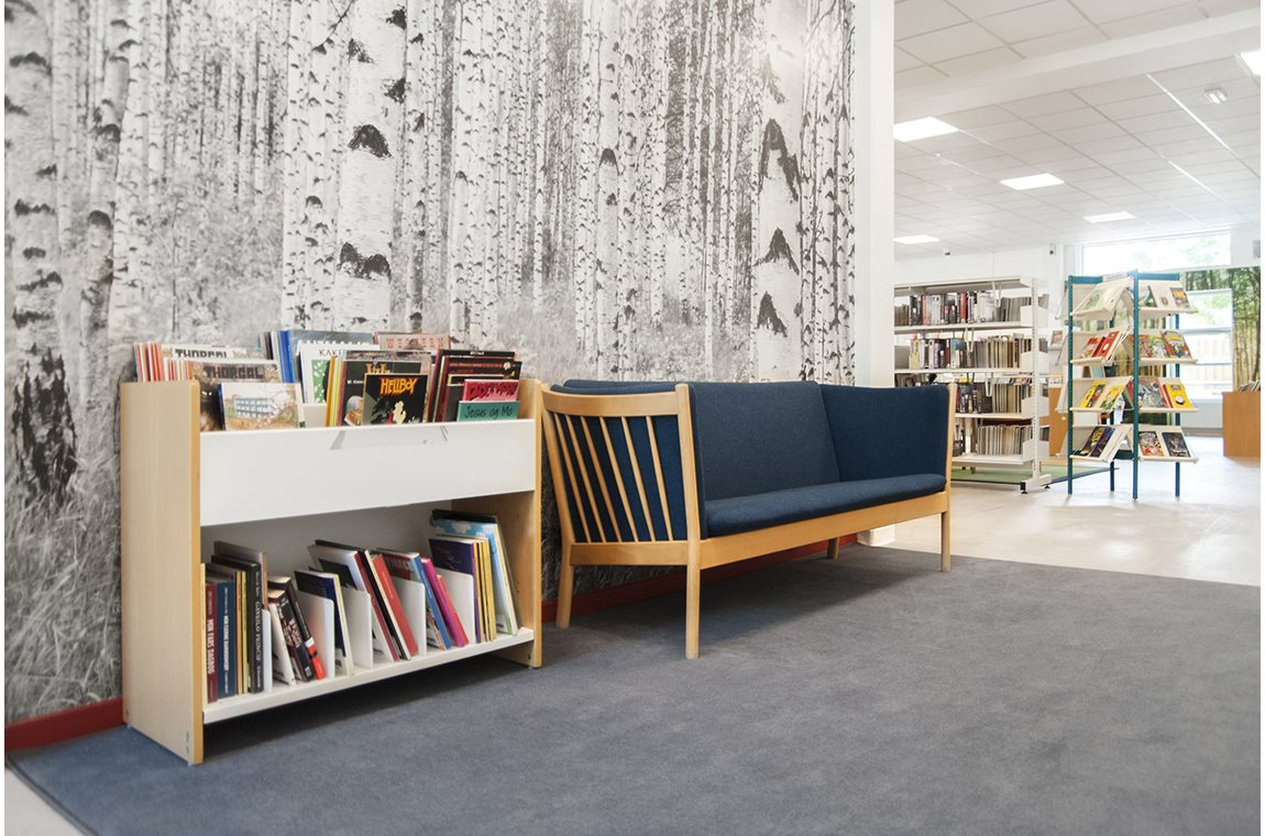 Bibliothèque municipale de Svinninge, Danemark - Bibliothèque municipale