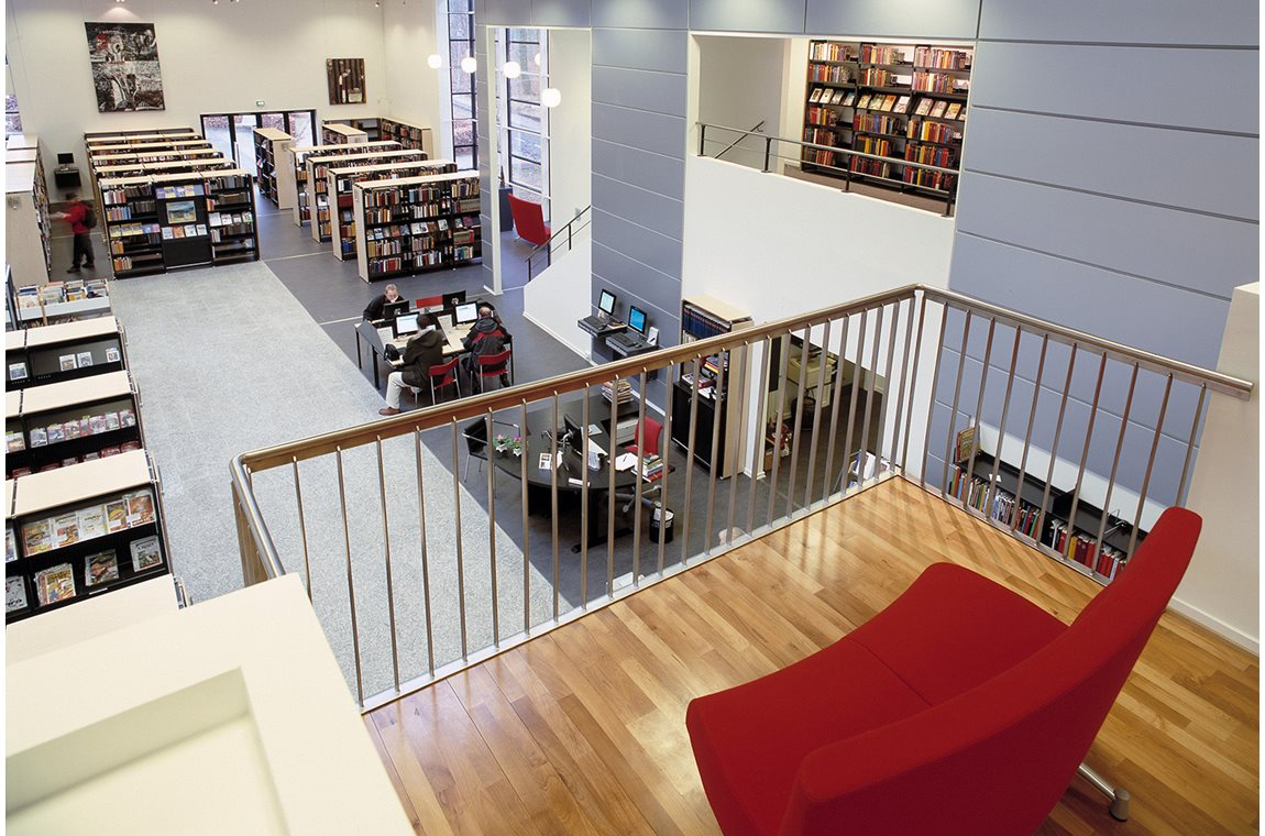 Hinnerup Bibliotek, Danmark - Offentligt bibliotek