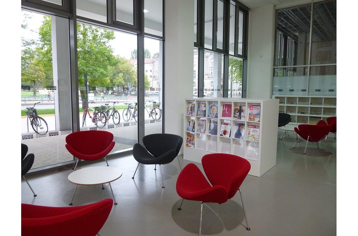 Potsdam bibliotek, Tyskland - Offentligt bibliotek