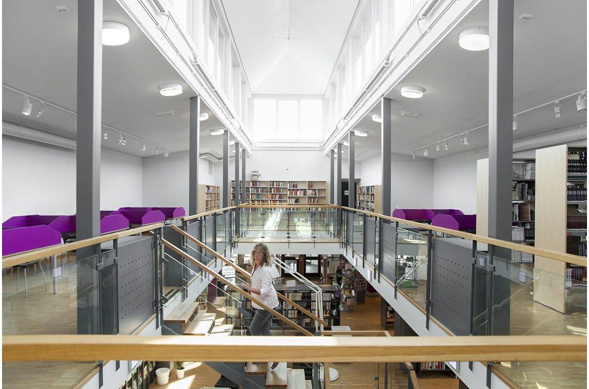 Sundsgymnasiet, Vellinge, Sverige - Skolbibliotek