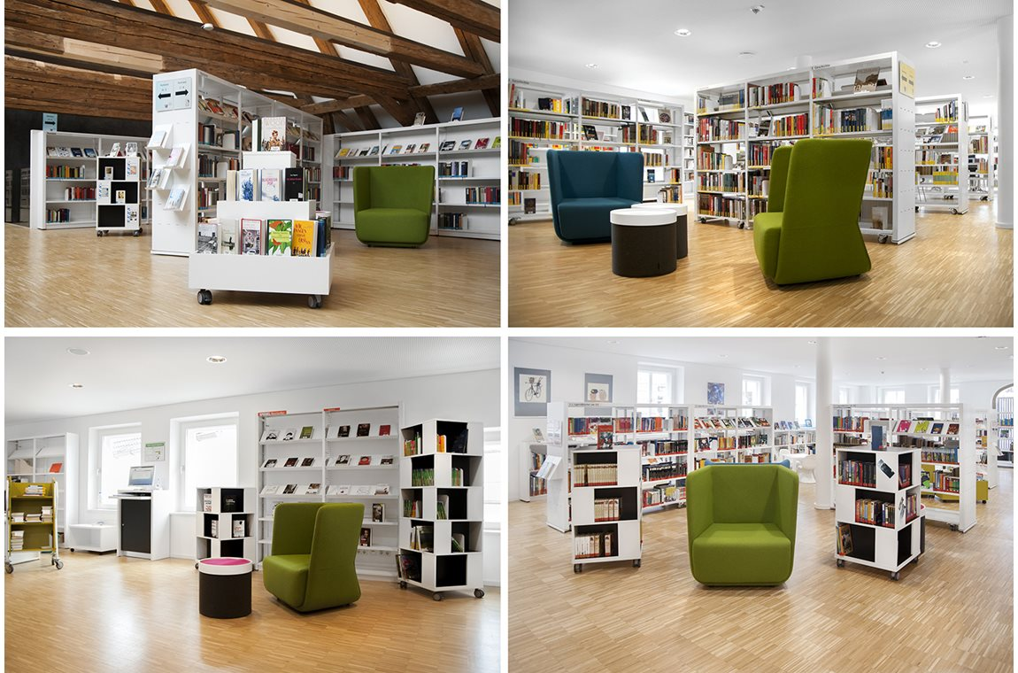 Bibliothèque municpale de Dingolfing, Allemagne - Bibliothèque municipale