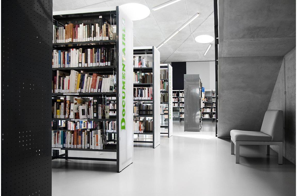 Ixelles Public Library, Belgium - Public libraries